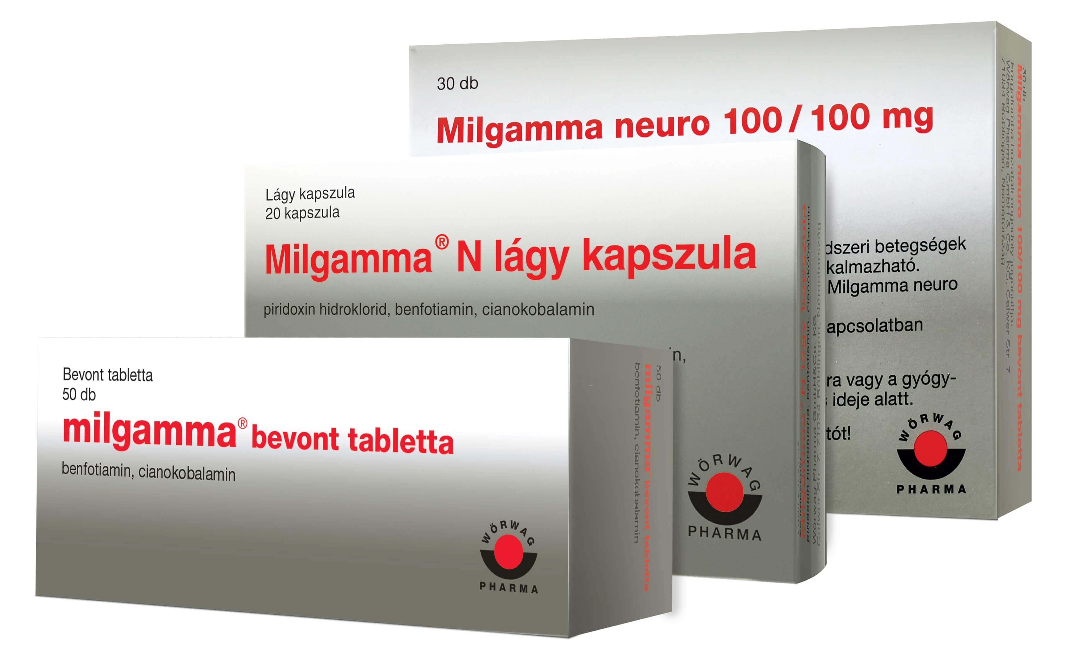 milgamma és magas vérnyomás)